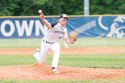 5/23/2017 - Northwest starting pitcher Michael Yuille (28) in the 4A Regional Championship game at Shirley Povic Field,  ©2017 Jacqui South Photography