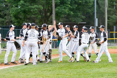 5/23/2017 - Northwest celebrates the 4-1 win over Roosevelt in the 4A Regional Championship game at Shirley Povic Field,  ©2017 Jacqui South Photography