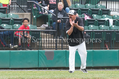 5/23/2017 - Northwest coach Todd Varesco in the 4th inning of the 4A Regional Championship game at Shirley Povic Field,  ©2017 Jacqui South Photography