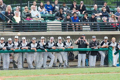 5/23/2017 - Northwest dugout in the 4A Regional Championship game at Shirley Povic Field,  ©2017 Jacqui South Photography