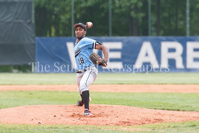 5/23/2017 - Roosevelt starting pitcher Devin Robinson (18) in the 4A Regional Championship game at Shirley Povic Field,  ©2017 Jacqui South Photography