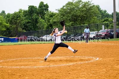 North West High School Jaguars Amber Yuille (14), 05 23 2017 Northwest v Eleanor Roosevelt Softball State Semi Finals