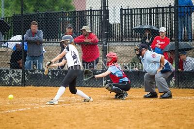 North West High School Jaguars Chloe Hickman (1), 05 23 2017 Northwest v Eleanor Roosevelt Softball State Semi Finals