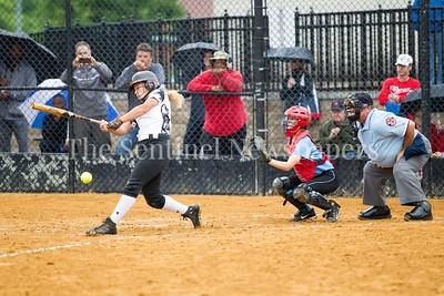 North West High School Jaguars Alexis Mack (00), 05 23 2017 Northwest v Eleanor Roosevelt Softball State Semi Finals