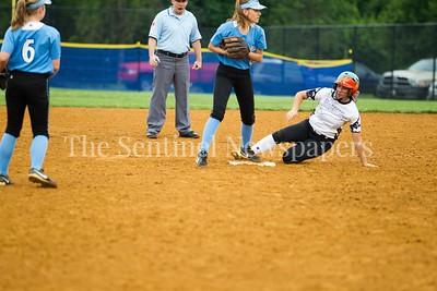 North West High School Jaguars Alex Karamihas (23), 05 23 2017 Northwest v Eleanor Roosevelt Softball State Semi Finals