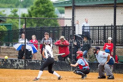North West High School Jaguars Megan Ridenour (3), 05 23 2017 Northwest v Eleanor Roosevelt Softball State Semi Finals