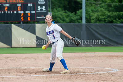 5/27/2017 -Sherwood pitcher Amanda Berkley in the Maryland 4A championship softball game, ©2017 Jacqui South Photography