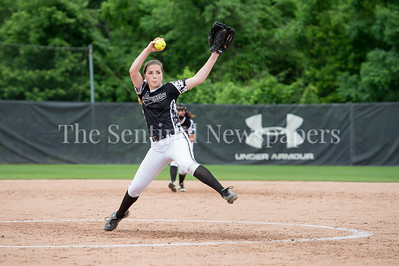 5/27/2017 -Northwest pitcher Amber Yuille in the Maryland 4A championship softball game, ©2017 Jacqui South Photography