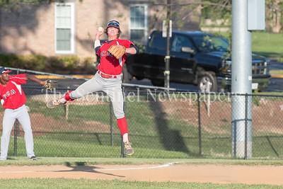 6/9/2017 - Herndon Braves 3rd baseman Brett Norwood (10), ©2017 Jacqui South Photography