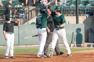 6/12/2017 - James Outman (26) after hitting a 2-RBI homerun in the 1st inning. Outman also hit a walk off single to win the game 11-10, ©2017 Jacqui South Photography