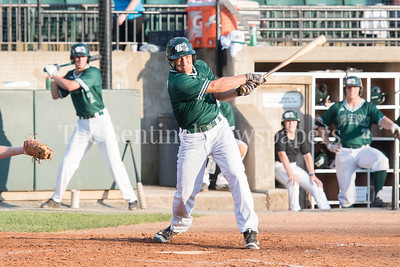 6/12/2017 - Garrett Kueber (4) at bat for Bethesda Big Train, ©2017 Jacqui South Photography