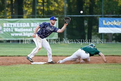 6/12/2017 - Riverdogs James Outman (26) safely steals 2nd base, ©2017 Jacqui South Photography