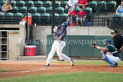 6/12/2017 - Peter Nielsen (9) at bat for the Vienna Riverdogs, ©2017 Jacqui South Photography
