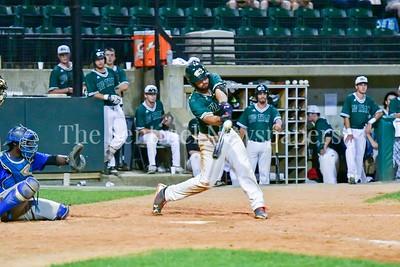 6/15/2017 - Bethesda Big Train first baseman Kevin Milam (12), ©2017 Jacqui South Photography