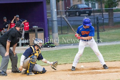 Jacob Barnwell (42) at bat   06 22 2017  Rockville Express v D C Grays Baseball