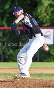 Express'   Brett Jones (26) Pitcher. 06 23 2017  Rockville Express v Takoma Park Silver Spring Thunderbolts Baseball