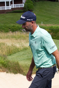 Geoff Ogilvy coming off 14th green. 06 29 2017 Quicken Loans National Golf Tournament at TPC Potomac Day 3 Thursday
