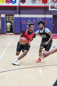 7/10/2017 - Gaithersburg point guard Kevin Neal, Maryland Elite Summer Basketball, ©2017 Jacqui South Photography