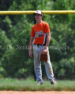 July 15, 2017  MCBA Baseball.   Olney Falcons vs. Rockville Baseball