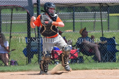 July 15, 2017  MCBA Baseball.   Olney Falcons vs. Rockville Baseball