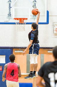 7/18/2017 - Matthew Balanc with a 2nd half dunk, Maryland Elite Summer Basketball, ©2017 Jacqui South Photography