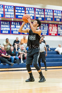 7/18/2017 - Cam Rucker at the foul line for Springbrook, Maryland Elite Summer Basketball, ©2017 Jacqui South Photography