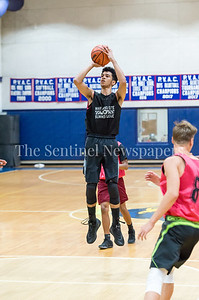 7/18/2017 - Springbrook's Cam Rucker shoots a jump shot, Maryland Elite Summer Basketball, ©2017 Jacqui South Photography