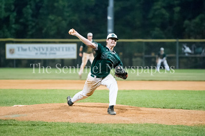 7/20/2017 - Big Train winning pitcher Alex Calvert, Thunderbolts v Big Train, Photo Credit: Jacqui South