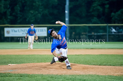 7/20/2017 - Thunderbolt pitcher Tyler Robinson, Thunderbolts v Big Train, Photo Credit: Jacqui South