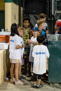 7/21/2017 - Waiting for autographs after the game, Photo Credit: Jacqui South