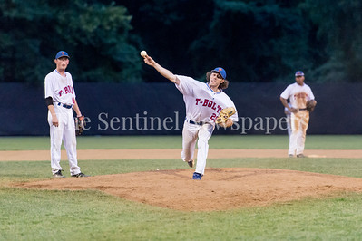 7/21/2017 - Thunderbolts pitcher took the mound in the 5th inning, Photo Credit: Jacqui South