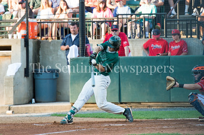 7/30/2017 - Big Train right fielder James Outman at bat in the 3rd inning, Photo Credit: Jacqui South