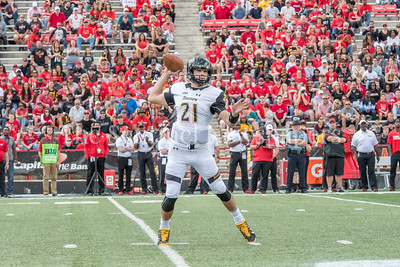 9/9/2017 - Towson quarterback Ryan Stover (21), Towson v University of Maryland Football, Photo Credit: Jacqui South