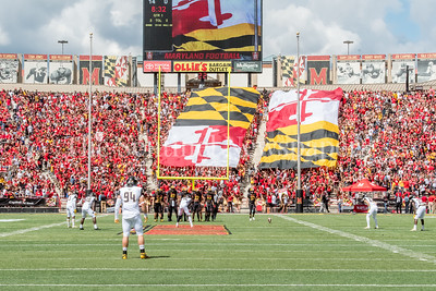 9/9/2017 - Towson v University of Maryland Football, Photo Credit: Jacqui South