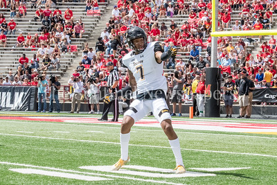 9/9/2017 - Troy Vincent (7) (Rockville native), Towson v University of Maryland Football, Photo Credit: Jacqui South