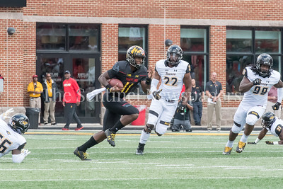 9/9/2017 - Maryland quarterback Kasim Hill (11),Towson v University of Maryland Football, Photo Credit: Jacqui South