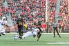 10/14/2017 - Northwestern safety Jared McGee (41) tackles Maryland running back Ty Johnson (6),  Northwestern v Maryland Football, Photo Credit: Jacqui South