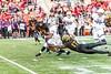 10/14/2017 - Maryland defensive back Tino Ellis (17) brings down Northwestern runningback Jeremy Larkin (28), Northwestern v Maryland Football, Photo Credit: Jacqui South