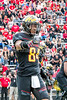 10/14/2017 - Maryland  receiver Jacquille Veii (84), Northwestern v Maryland Football, Photo Credit: Jacqui South