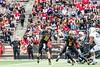 10/14/2017 - Maryland quarterback Max Bortenschlager (18), Northwestern v Maryland Football, Photo Credit: Jacqui South