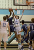 Rodrigo Ruiz and the rest of the Whitman defense shut down Springbrook shooters early and gained a 10-0 lead. PHOTO BY MIKE CLARK