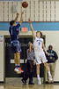 Springbrook's Mathew Balanc rises up for 3 to get Springbrook back into the game after a slow start. PHOTO BY MIKE CLARK