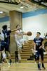 Alex Sanson of Whitman drives the lane for a basket. PHOTO BY MIKE CLARK