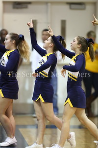 George P. Smith/The Montgomery Sentinel    Bethesda-Chevy Chase High School's cheerleaders.