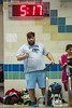 1/20/2018 - Blake Coach Ryan Burnsky, Blake v Magruder Swim & Dive, ©2018 Jacqui South Photography