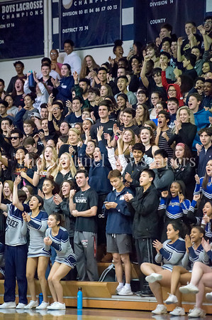 2/9/2018 - Magruder Colonel Crazies, Sherwood v Magruder Boys Basketball, ©2018 Jacqui South Photography