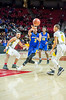 3/8/2018 - Gaithersburg senior guard Kevin Neal (3) passes, Maryland 4A Boys Semifinal, Gaithersburg v Perry Hall, ©2018 Jacqui South Photography