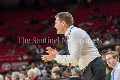 3/8/2018 - Gaithersburg Coach Jeffery Holda, Gaithersburg v Perry Hall Boys 4A Semifinals, ©2018 Jacqui South Photography