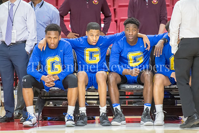 3/8/2018 - Gaithersburg players before the 4A semifinal game vs Perry Hall, ©2018 Jacqui South Photography