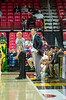3/8/2018 - Perry Hall Coach George Panageotou remains calm as his team maintains a double-digit lead over Gaithersburg through most of the game, Maryland 4A Boys Semifinal, Gaithersburg v Perry Hall, ©2018 Jacqui South Photography